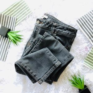Cabi Charcoal Gray Skinny Jeans 202